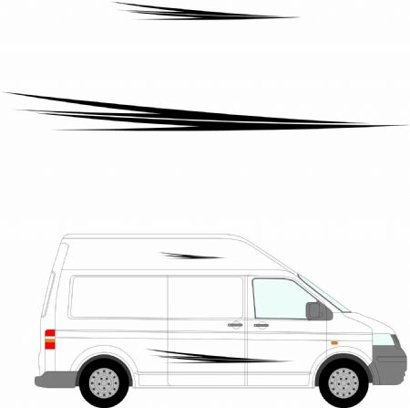 (No.186) MOTORHOME GRAPHICS STICKERS DECALS CAMPER VAN CARAVAN UNIVERSAL FITTING
